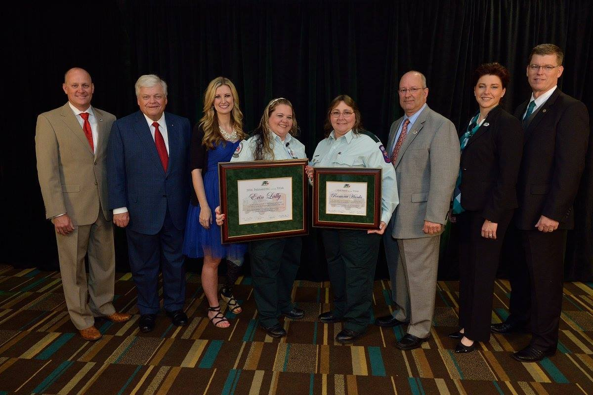 Acadian Ambulance Texas honors Medics of the Year and 10th anniversary of service
